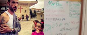 """""""O ISIS vai para o inferno"""": cristãos iraquianos lutam para ensinar as crianças a mensagem de perdão."""
