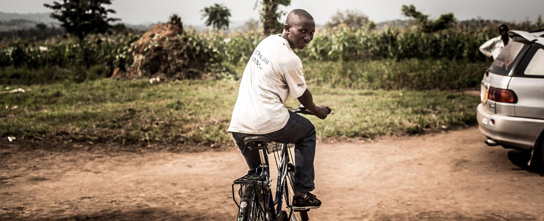 África: pedaladas de esperança