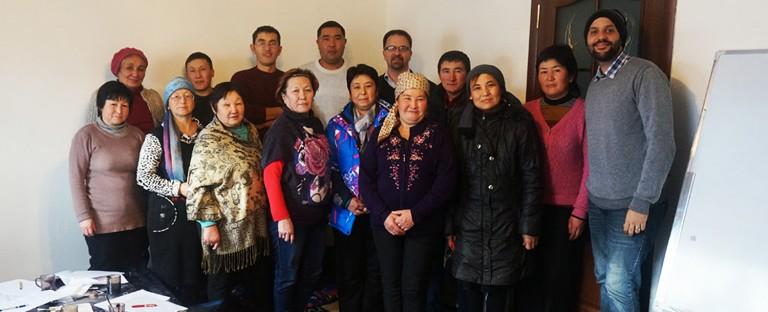 Ásia Central: celebrando pequenos triunfos