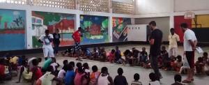 Guiné-Bissau: novos sorrisos em cena