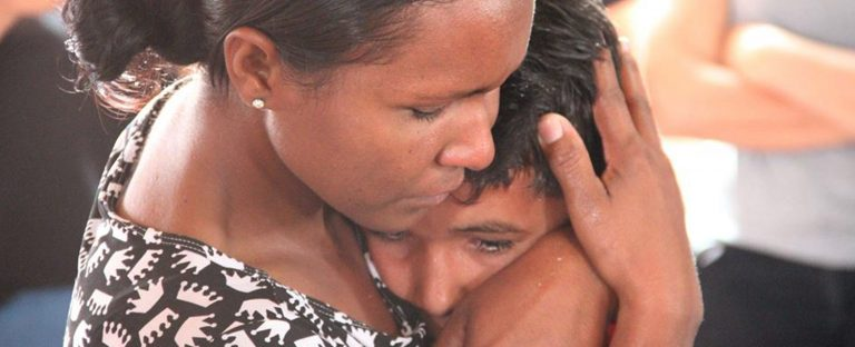 Sertão: domingo de batismo