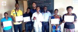 Inglês para refugiados em Uganda